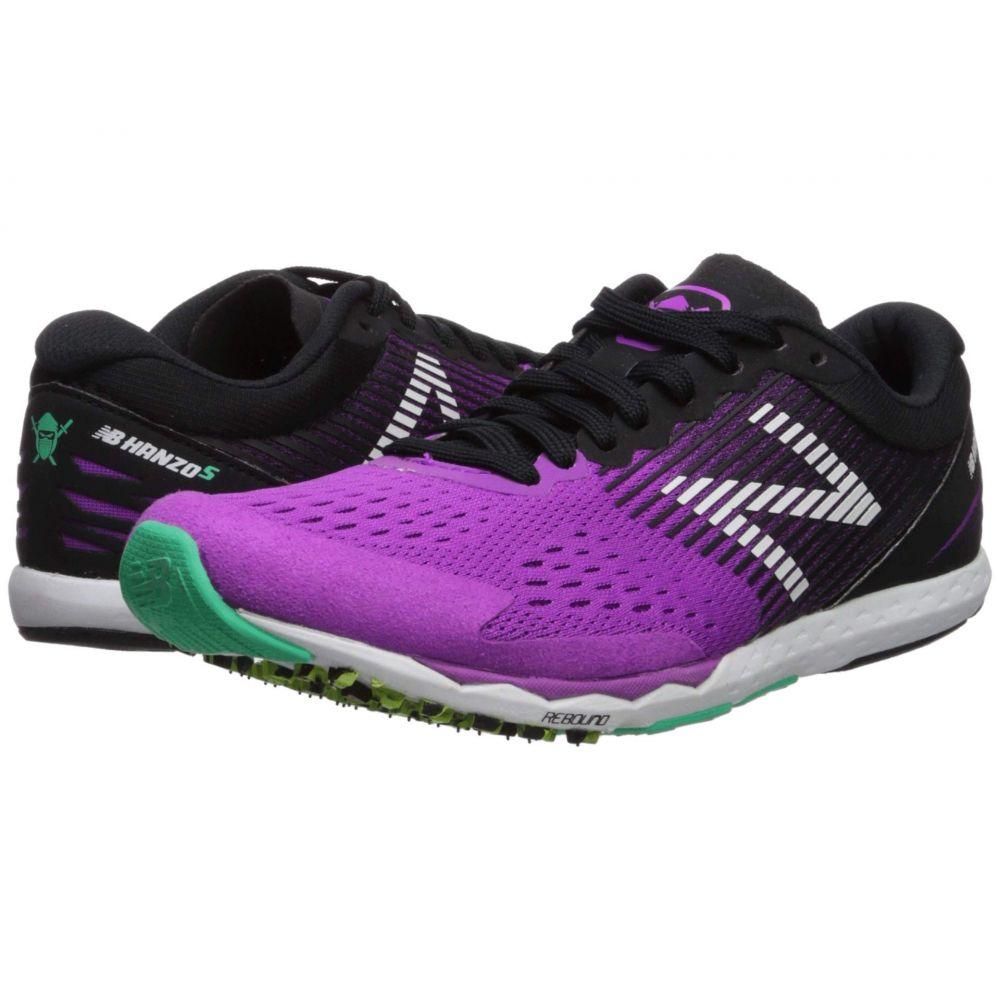 ニューバランス New Balance レディース ランニング・ウォーキング シューズ・靴【Hanzo S v2】Voltage Violet/Black
