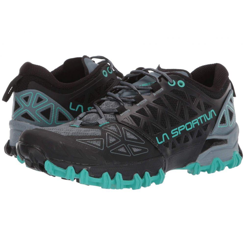 ラスポルティバ La Sportiva レディース ランニング・ウォーキング シューズ・靴【Bushido II】Slate/Aqua