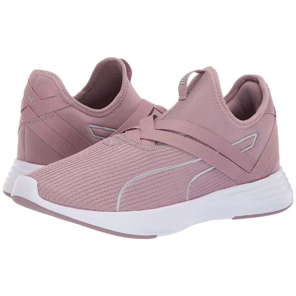 プーマ PUMA レディース ランニング・ウォーキング シューズ・靴【Radiate XT Slip-On】Elderberry/Puma Silver
