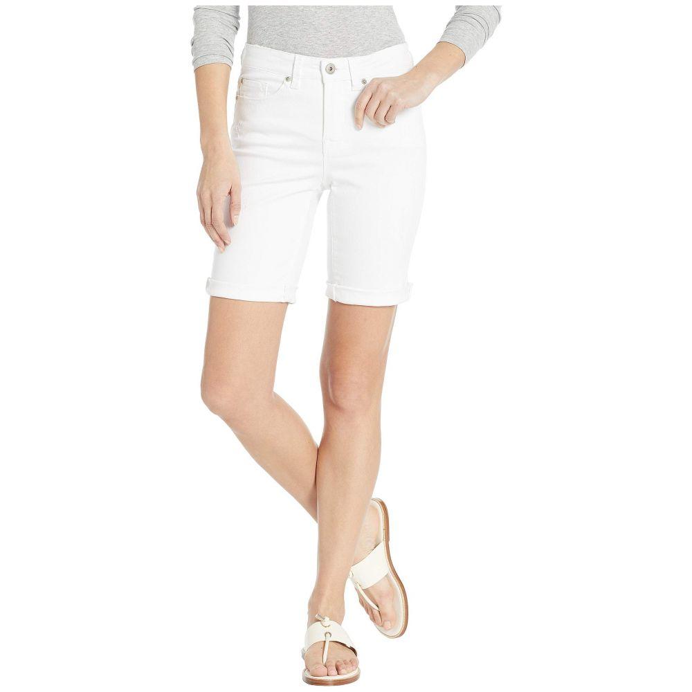 トリバル Tribal レディース ボトムス・パンツ ショートパンツ【Jeans Denim Distressed Shorts w/ Rolled Cuff in White】White