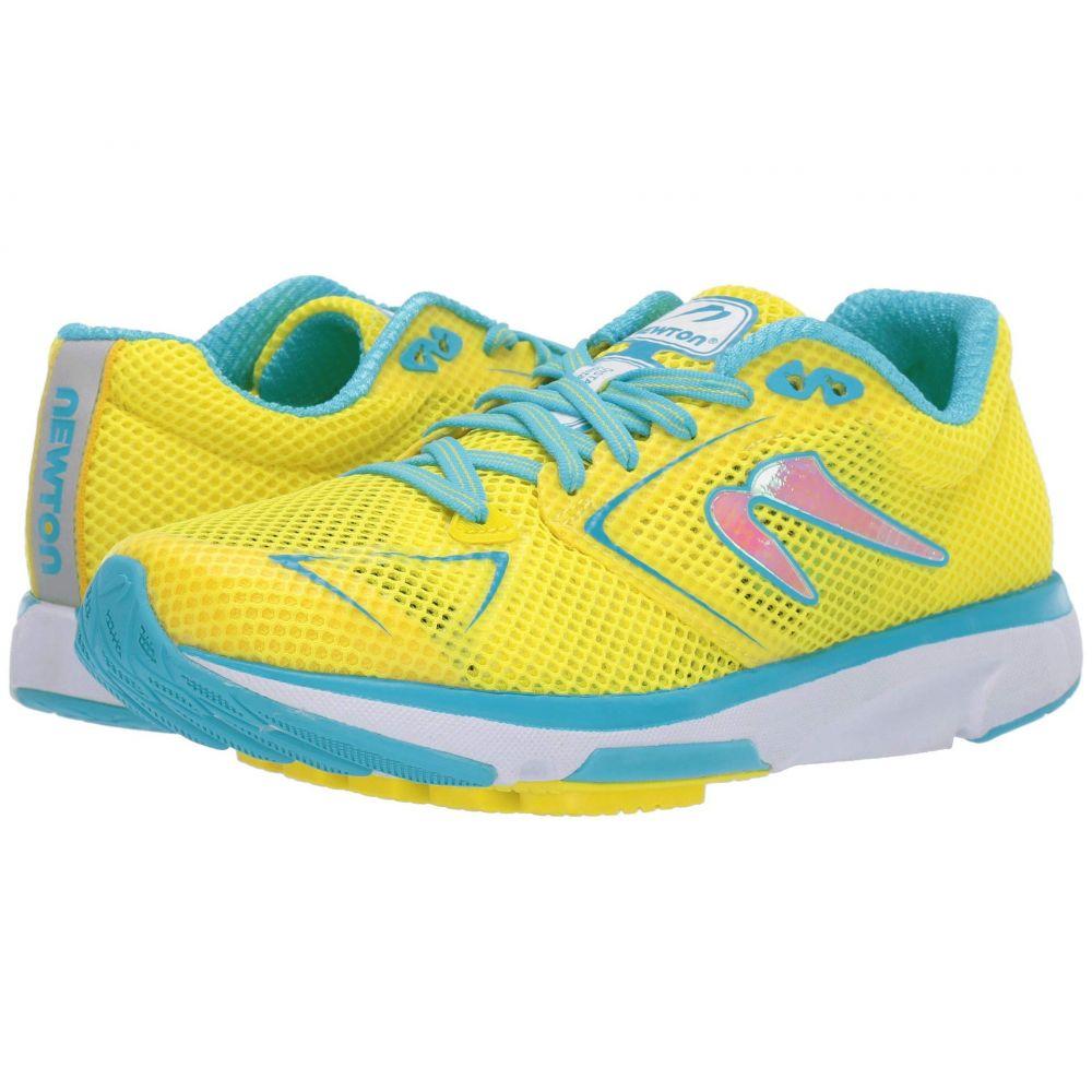 ニュートンランニング Newton Running レディース ランニング・ウォーキング シューズ・靴【Distance S 8】Yellow/Blue