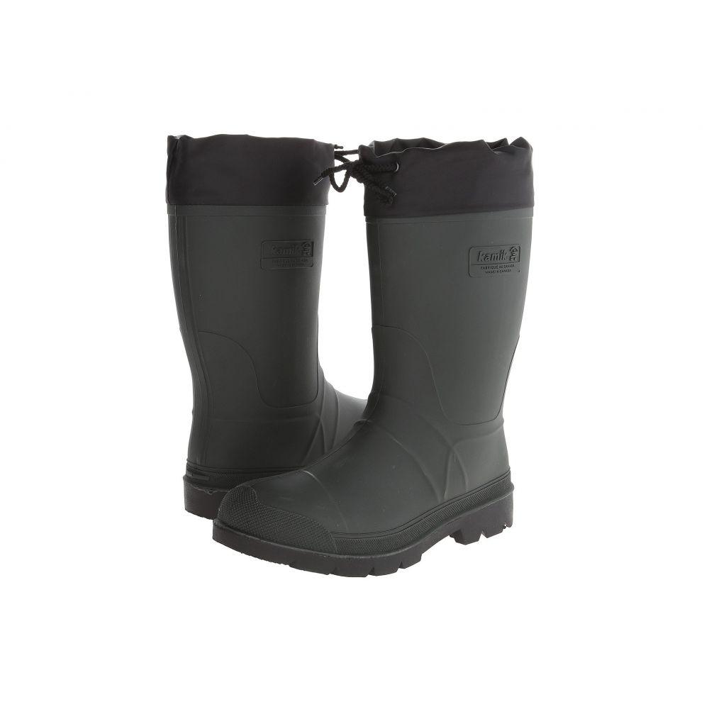 カミック Kamik メンズ シューズ・靴 レインシューズ・長靴【HunterBG】Khaki Black