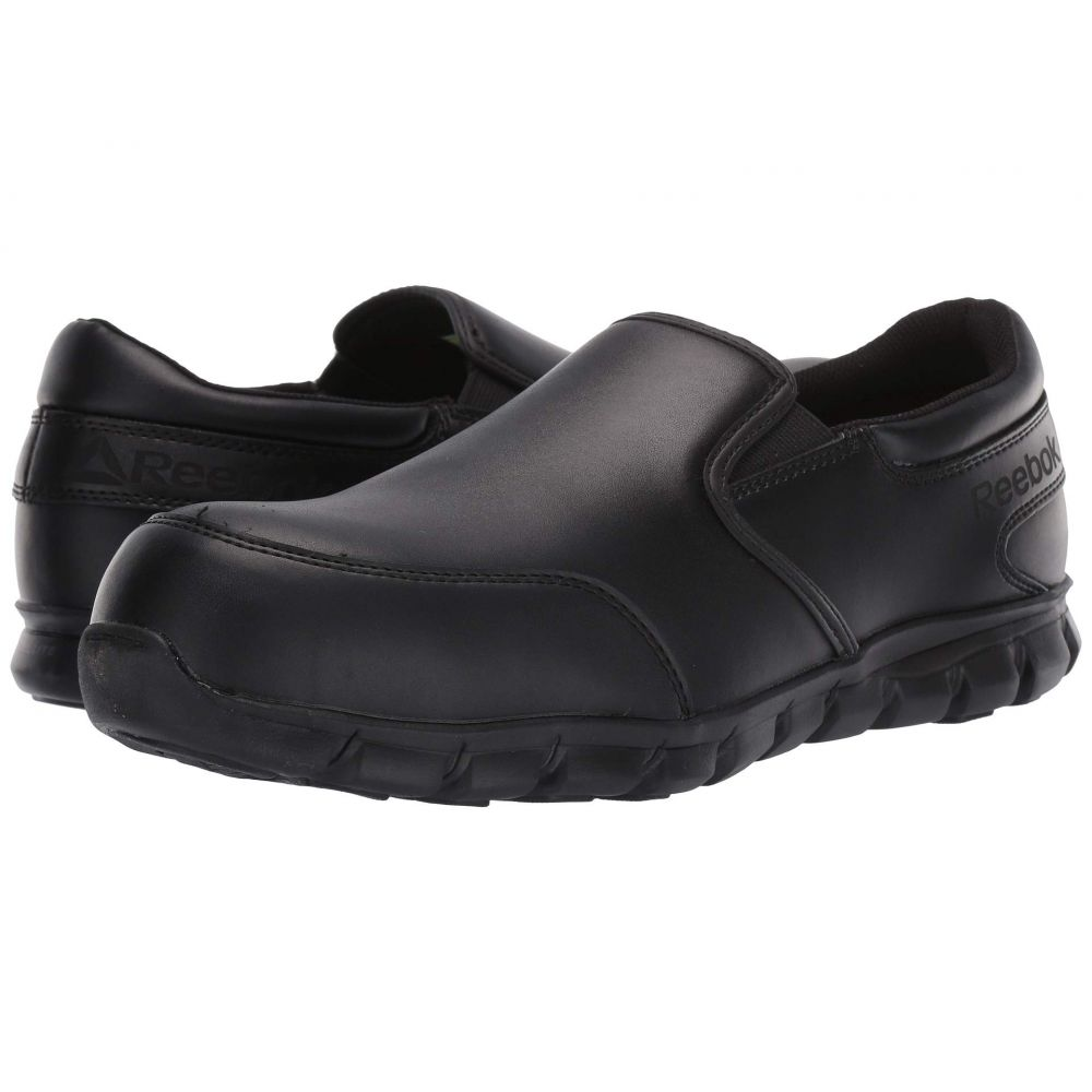 リーボック Reebok Work メンズ シューズ・靴【Sublite Cushion Work Comp Toe ESD Slip On】Black