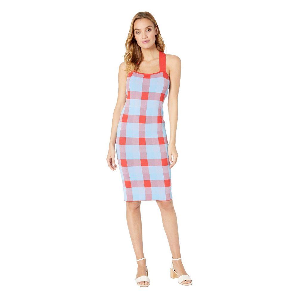 パーカー Parker レディース ワンピース・ドレス ワンピース【Ayla Knit Dress】Plaid