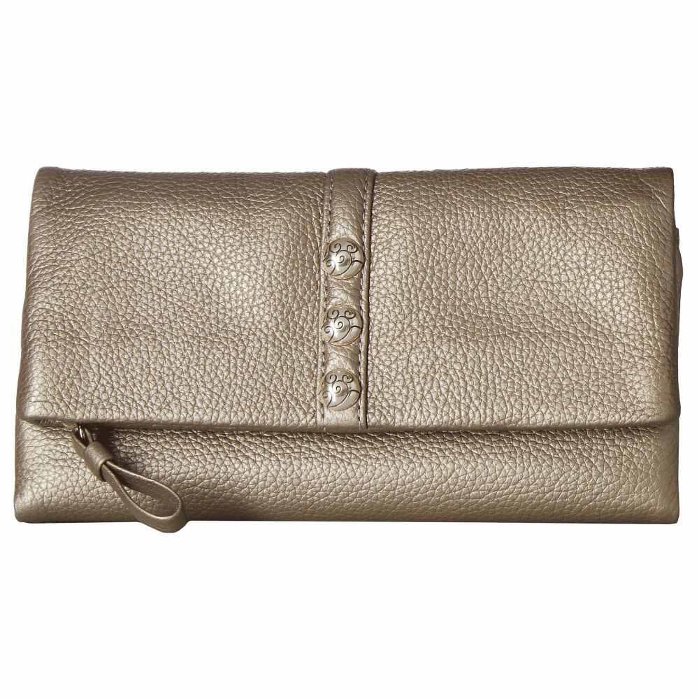 20ea3c8fbc94 財布【Nolita Shimmer Large Wallet】Zinc オンライン ブライトン Brighton レディース 財布・ケース 絶賛