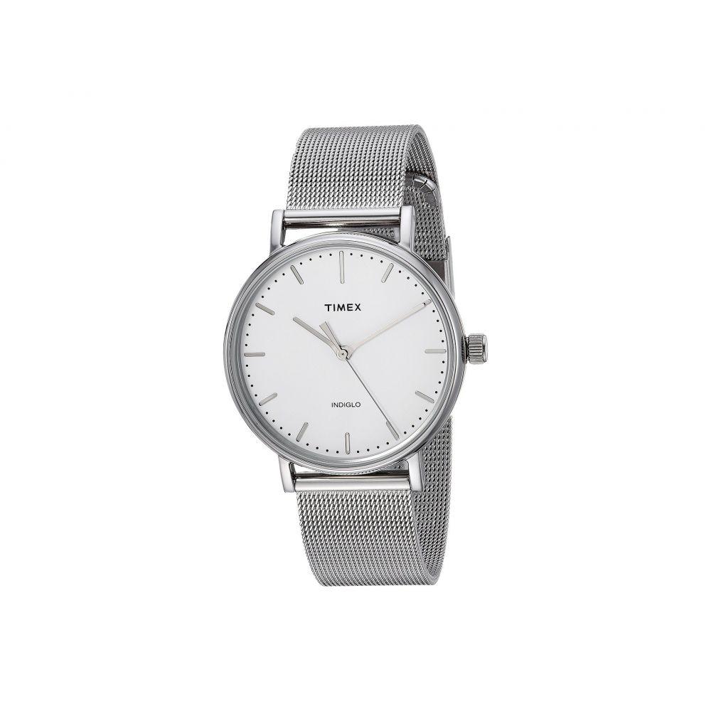 タイメックス Timex レディース 腕時計【Fairfield Mesh】Silver/White