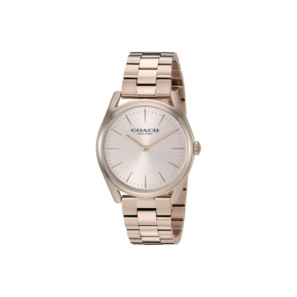 コーチ COACH レディース 腕時計【Preston - 14503111】Pink