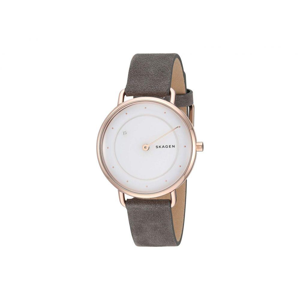 スカーゲン Skagen レディース 腕時計【Horizont Special Edition Rotating Diamond - SKW2739】Gray