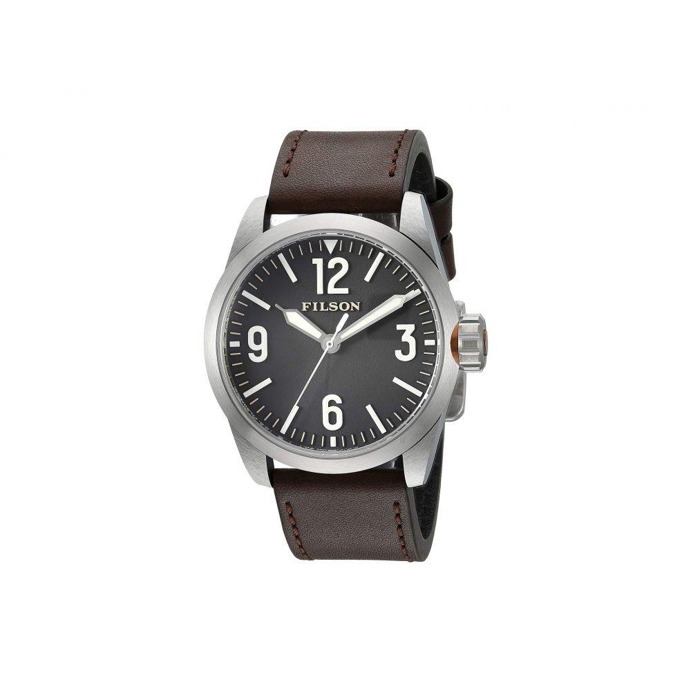 フィルソン Filson レディース 腕時計【Field Watch 41mm】Black