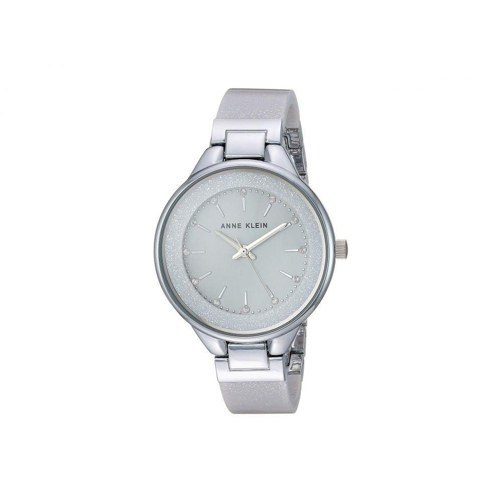 アン クライン Anne Klein レディース 腕時計【AK-1409LGSV】Grey/Silver-Tone