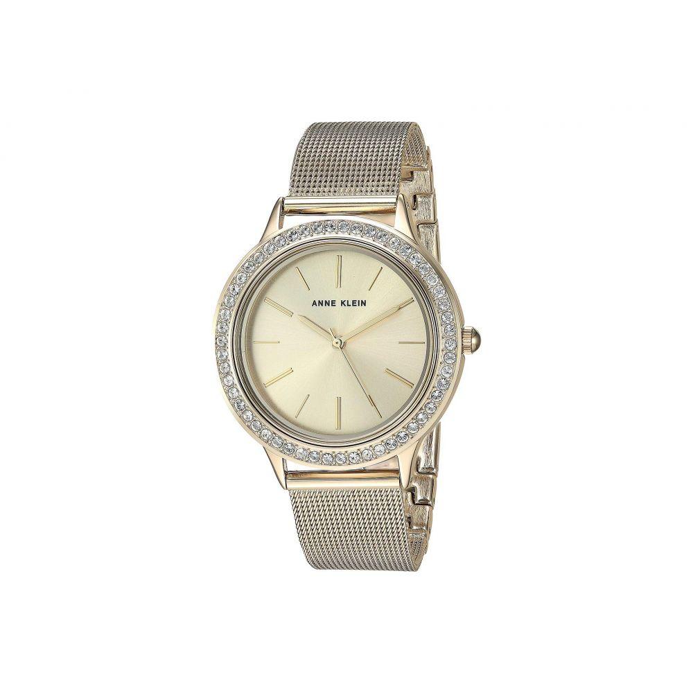 アン クライン Anne Klein レディース 腕時計【AK-3166GPST】Gold-Tone