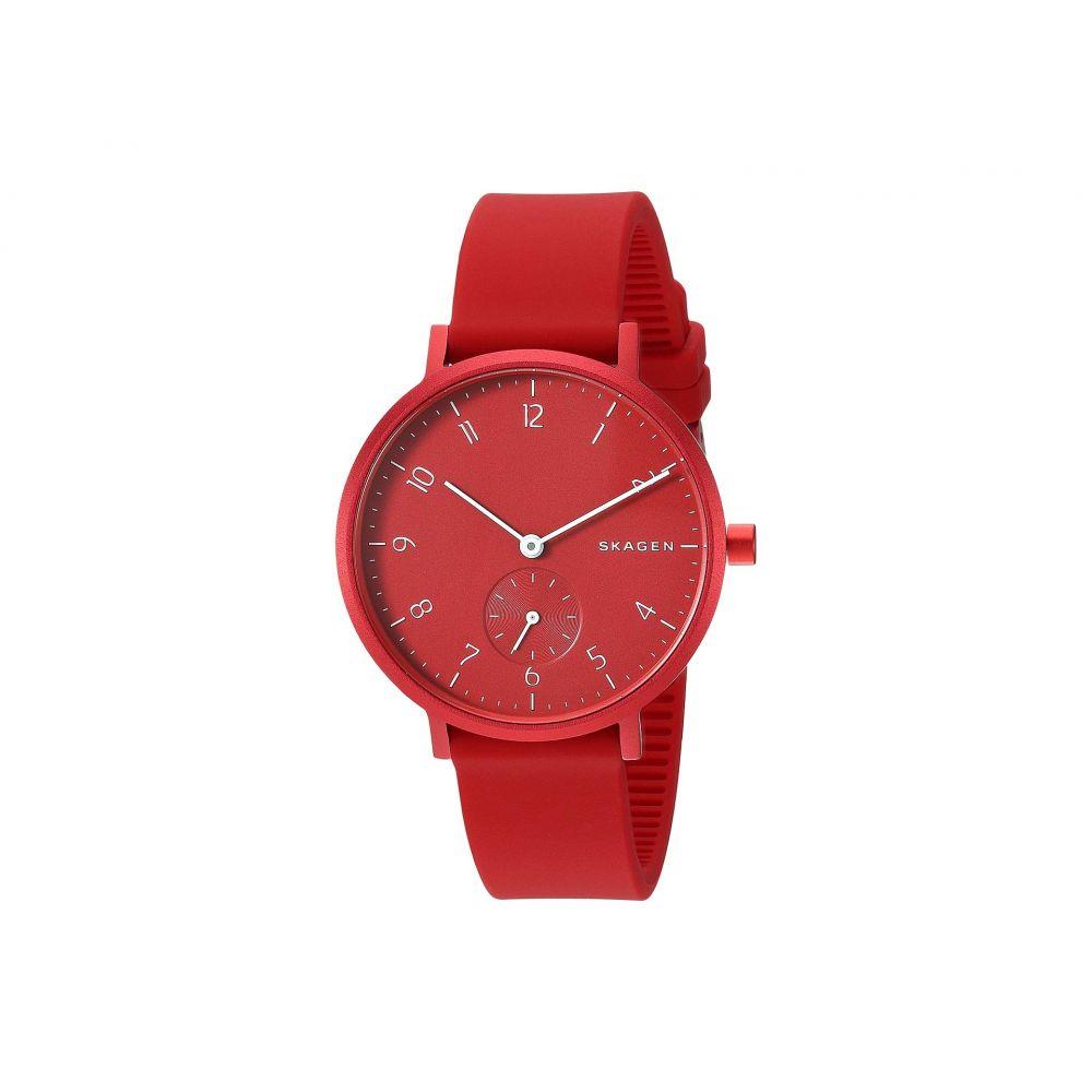 スカーゲン Skagen レディース 腕時計【Aaren Aluminum Bold - SKW2765】Red