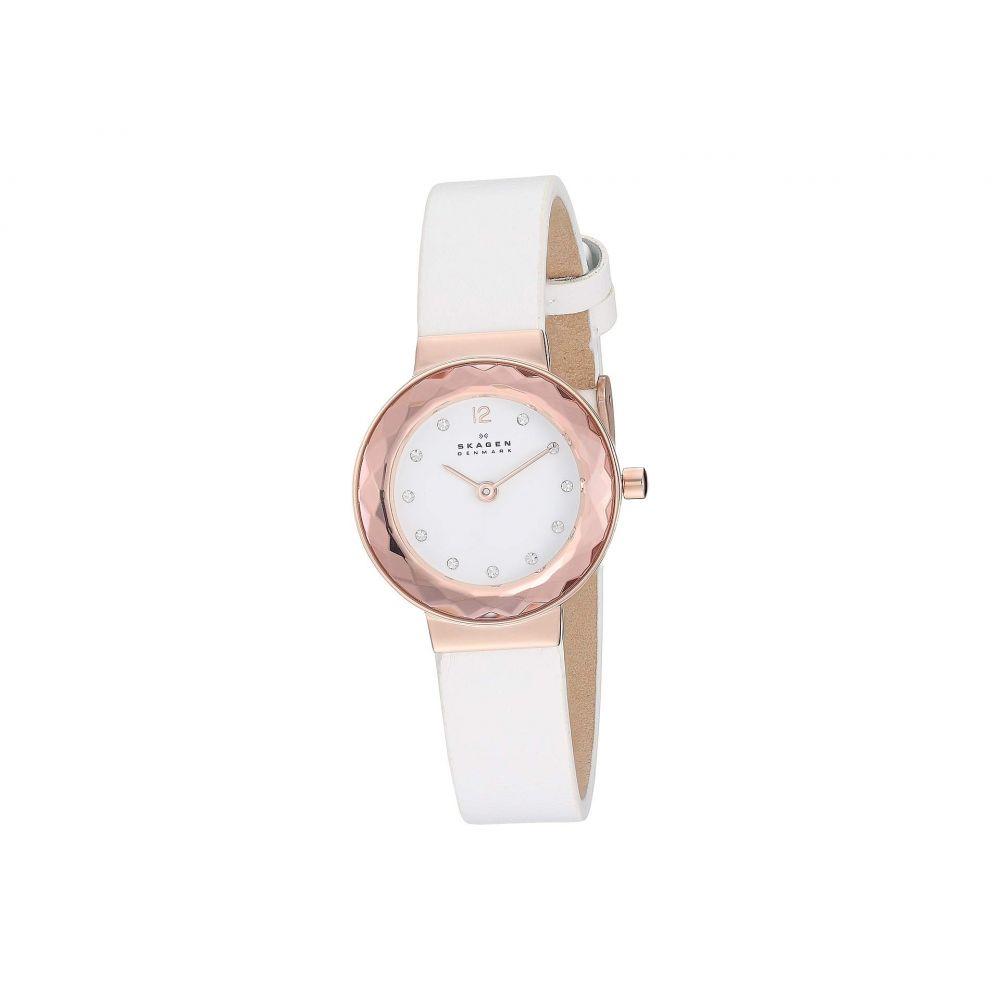スカーゲン Skagen レディース 腕時計【Leonora Faceted Crystal - SKW2769】White
