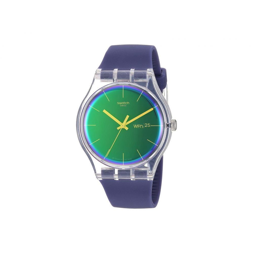 スウォッチ Swatch レディース 腕時計【Polapurple - SUOK712】Purple
