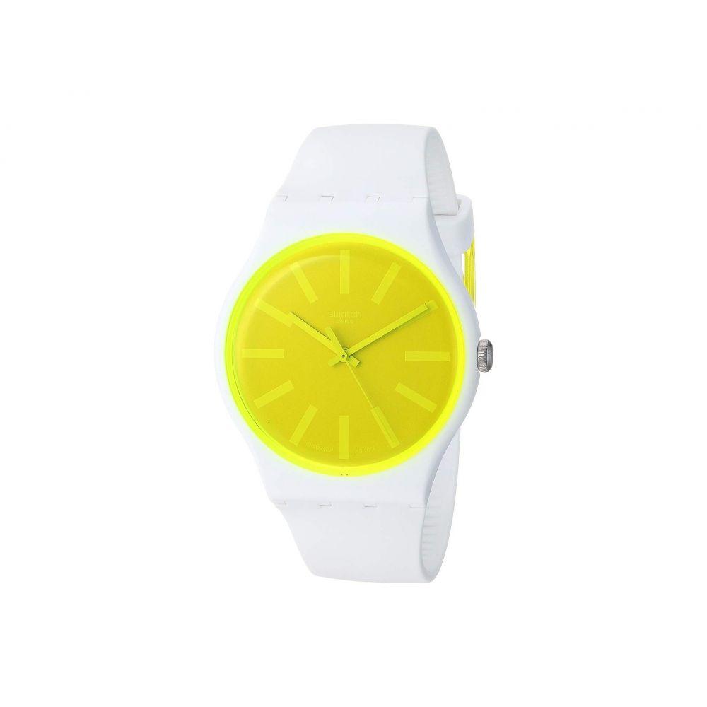 スウォッチ Swatch レディース 腕時計【Lemoneon - SUOW165】Yellow