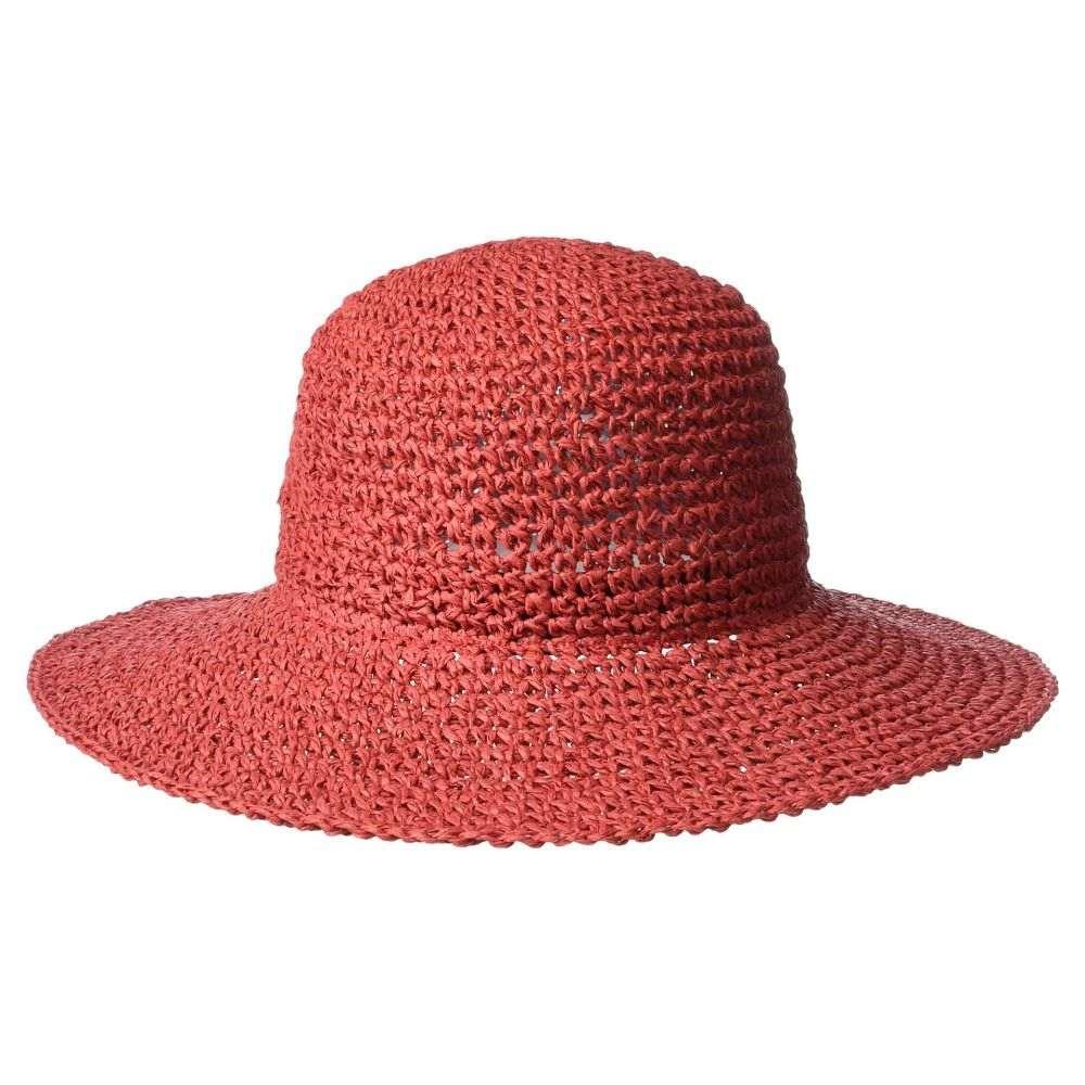 エコー Echo Design レディース 帽子 ハット【Effortless Crochet Bucket Hat】Resort Red