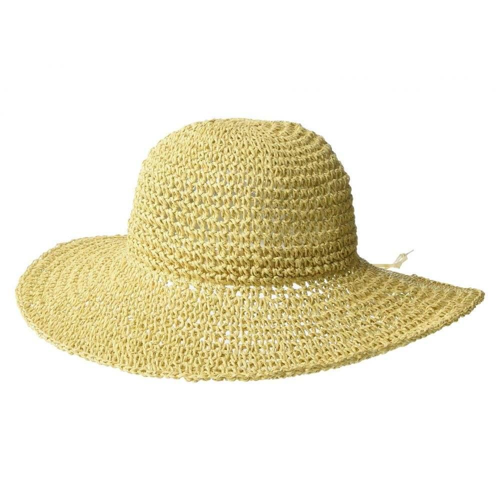 エコー Echo Design レディース 帽子 ハット【Effortless Crochet Bucket Hat】Natural
