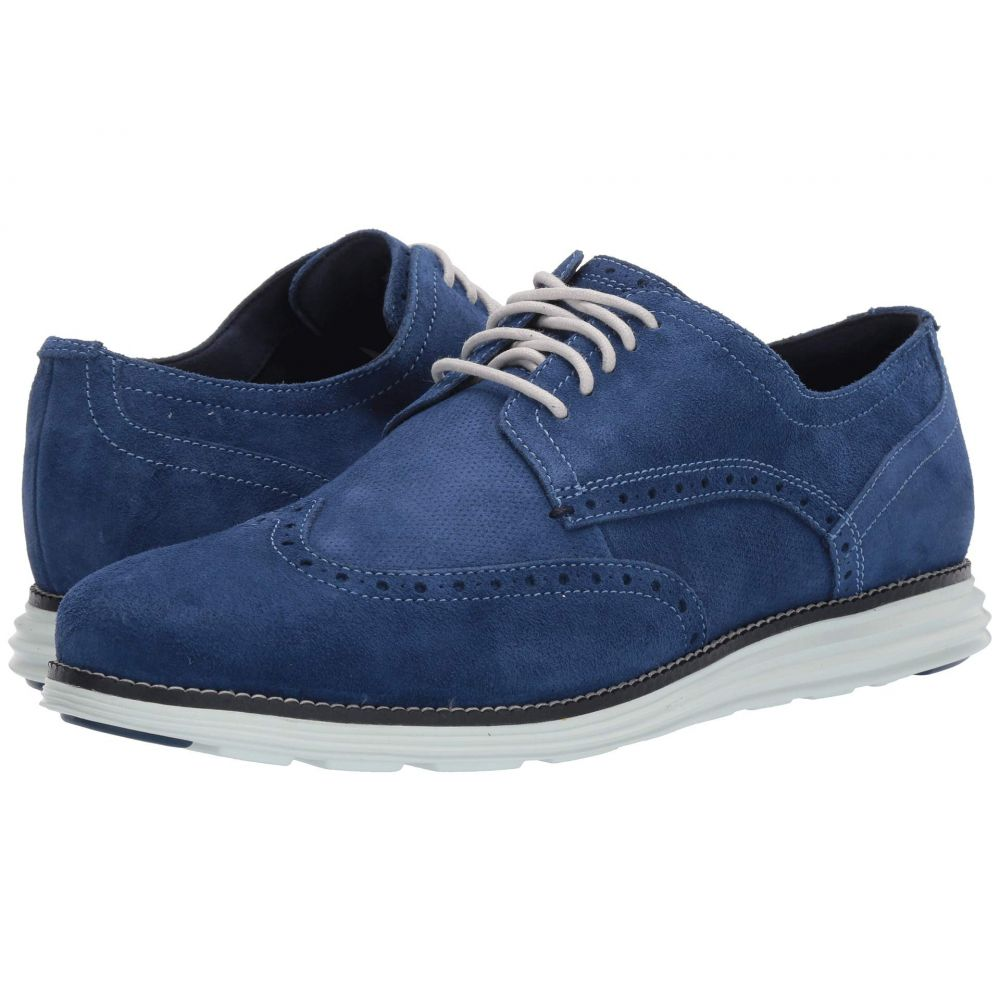 コールハーン Cole Haan メンズ シューズ・靴 革靴・ビジネスシューズ【Original Grand Wingtip Oxford】Navy Peony Leather/Navy Ink/Morning Mist