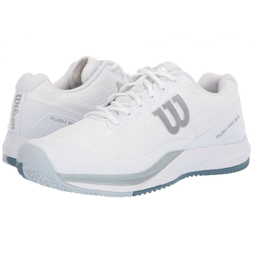 ウィルソン Wilson メンズ テニス シューズ・靴【Rush Pro 3.0】White/Pearl Blue/Bluestone