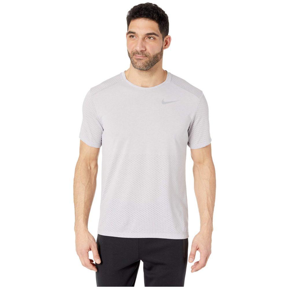 ナイキ Nike メンズ トップス【Breath Rise 365 Short Sleeve】Atmosphere Grey/Heather/Reflective Silver