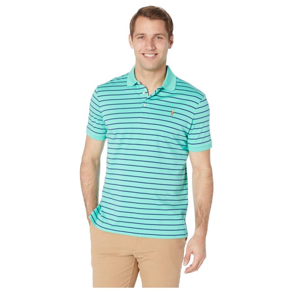 ラルフ ローレン Polo Ralph Lauren メンズ トップス ポロシャツ【Soft Touch Pima Polo Short Sleeve Classic Fit】Sunset Green Multi