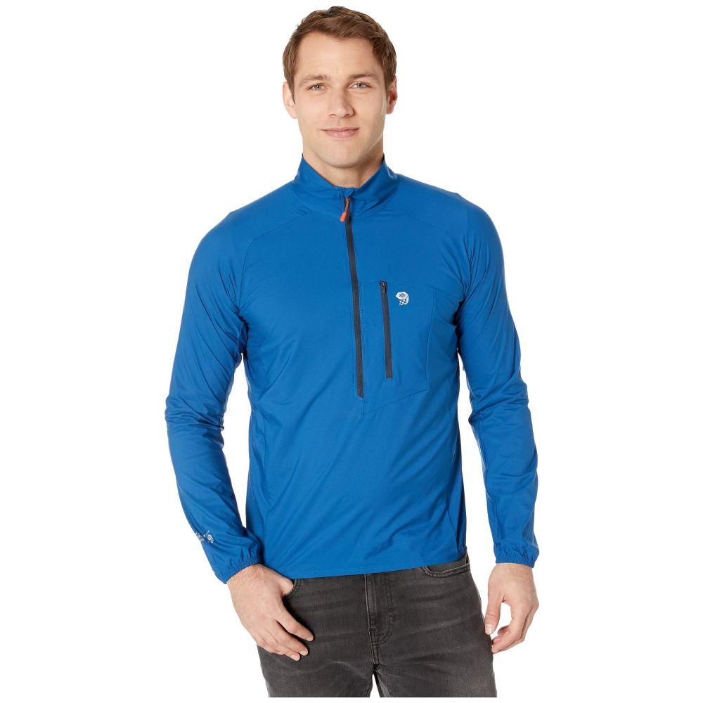 マウンテンハードウェア Mountain Hardwear メンズ トップス【Kor Preshell(TM) Pullover】Nightfall Blue