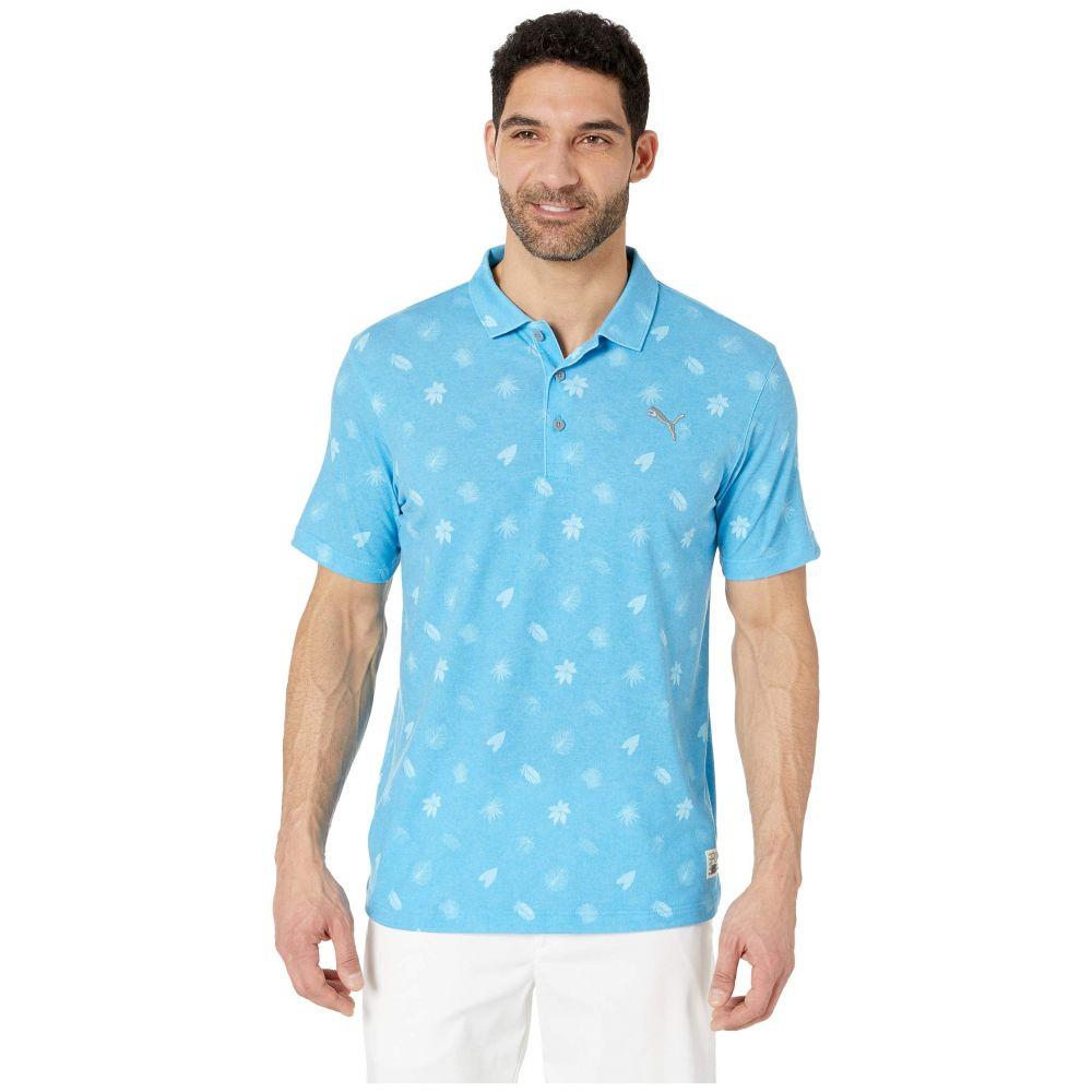 プーマ PUMA Golf メンズ トップス ポロシャツ【Verdant Polo】Bleu Azur