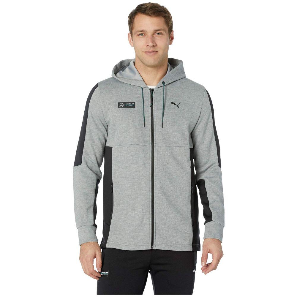 プーマ PUMA メンズ トップス【Mercedes AMG Petronas Sweat Jacket】Medium Grey Heather