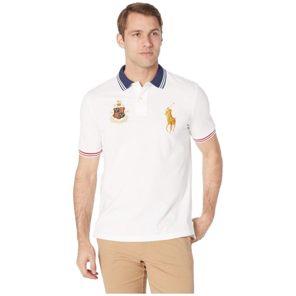 ラルフ ローレン Polo Ralph Lauren メンズ トップス ポロシャツ【Short Sleeve Classic Fit Mesh Polo】White