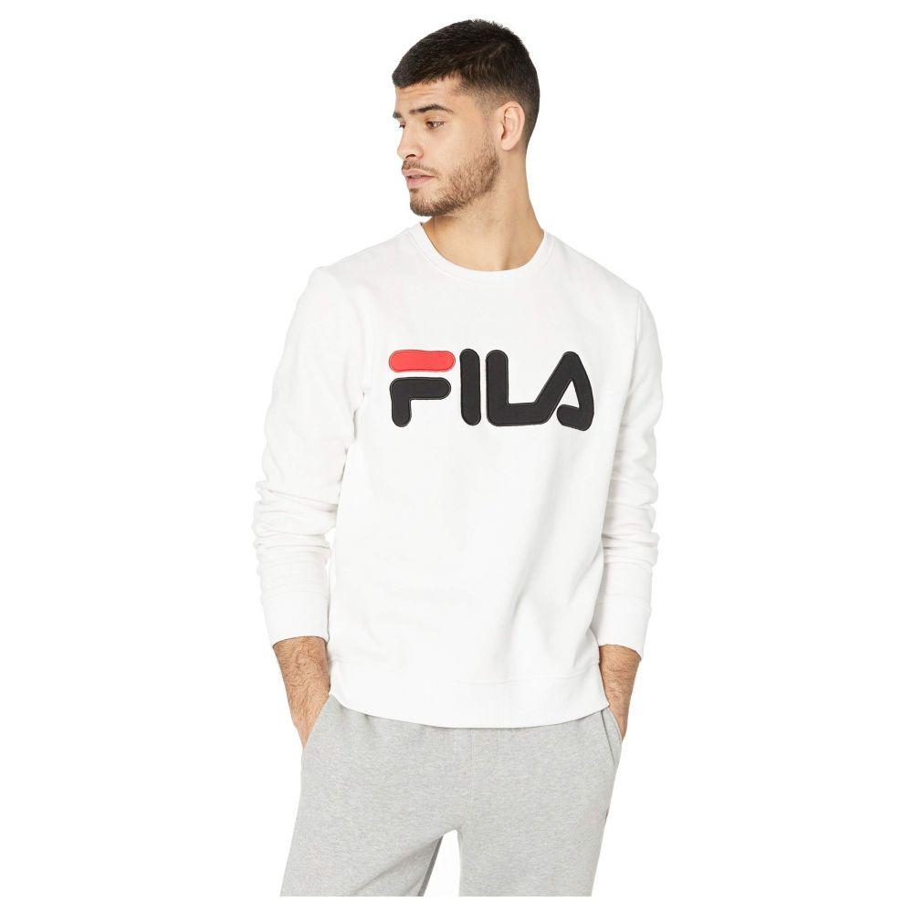 フィラ Fila メンズ トップス スウェット・トレーナー【Regola Sweatshirt】White/Black/Chinese Red