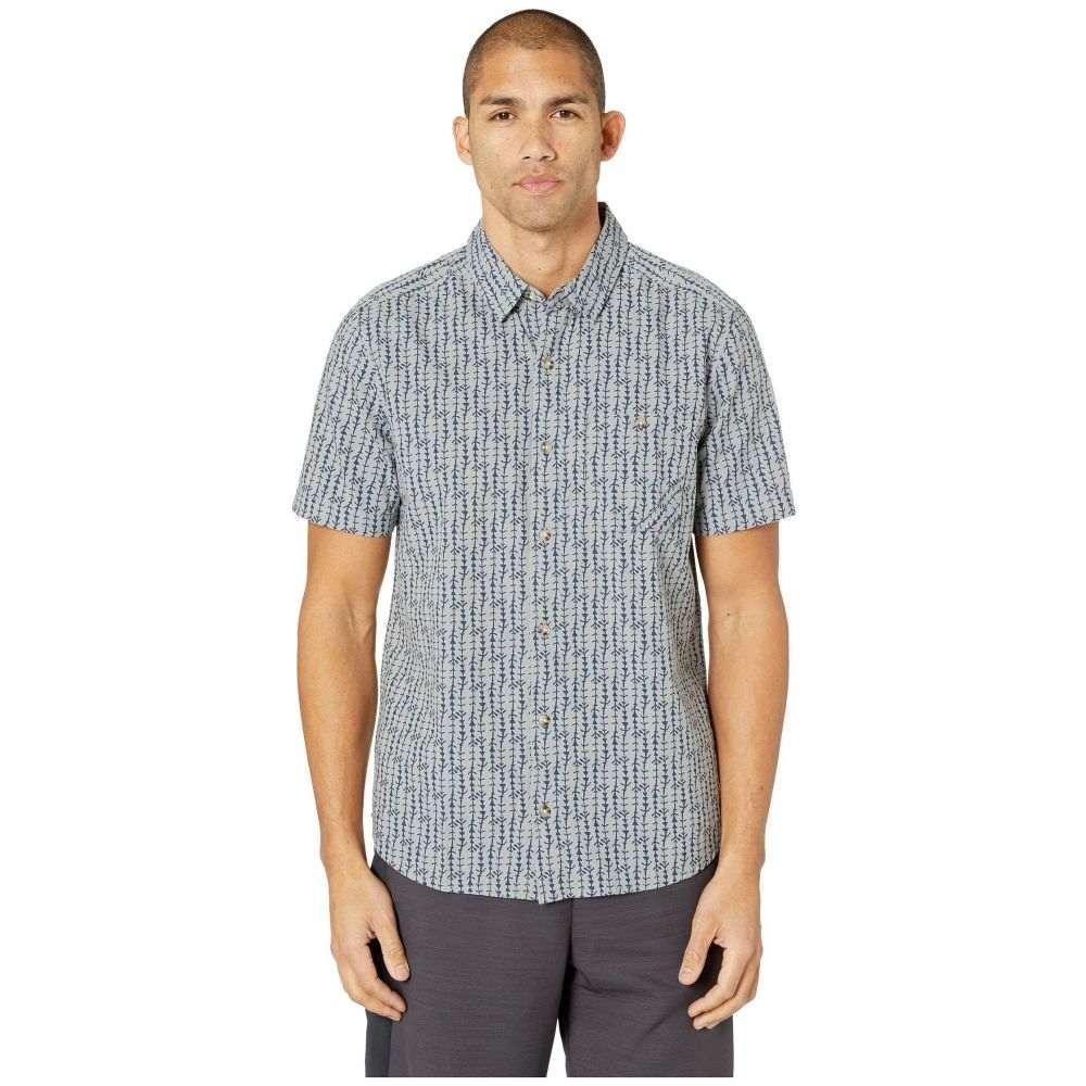 トードアンドコー Toad&Co メンズ トップス 半袖シャツ【Fletch Print Short Sleeve Shirt】Light Ash Arrow Print