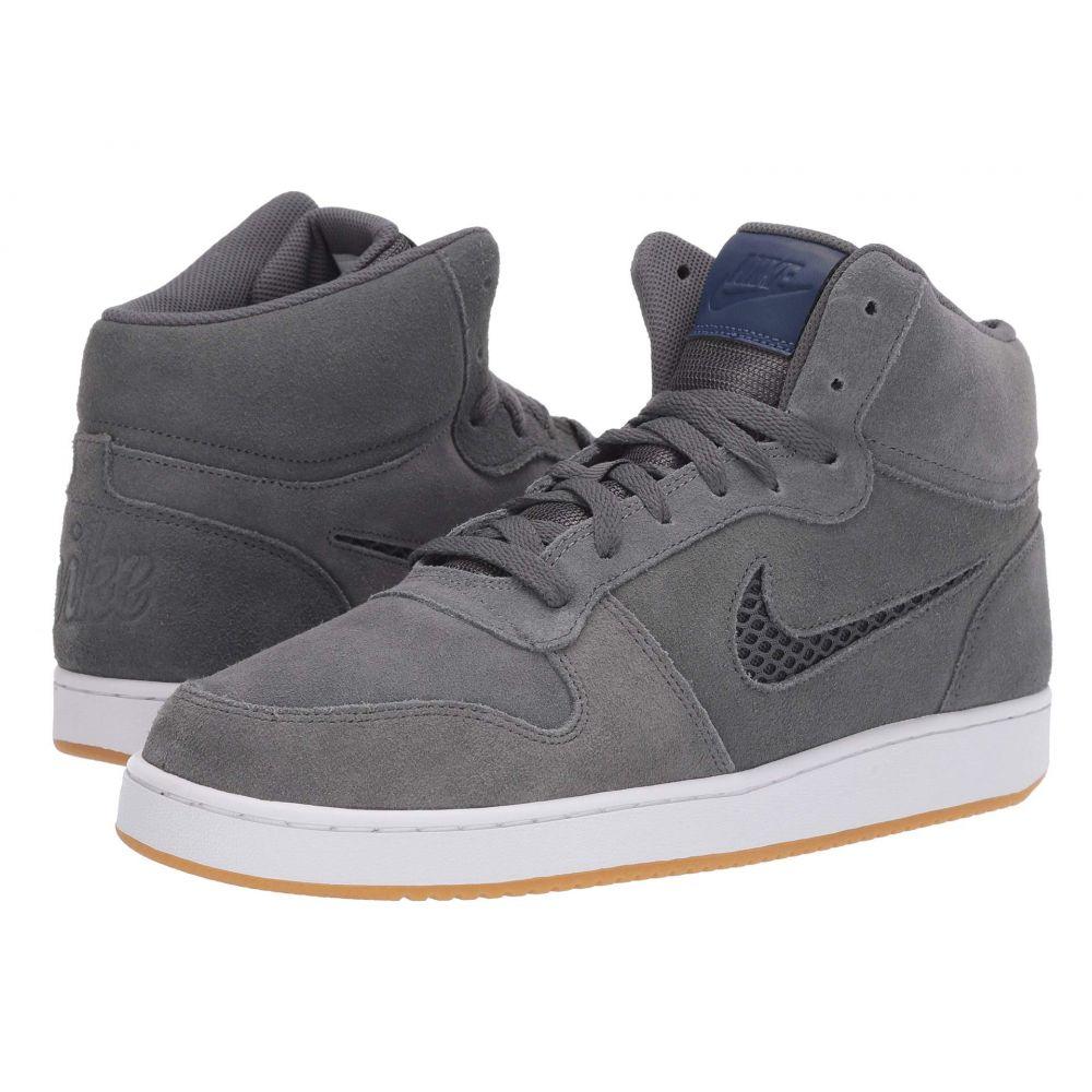 ナイキ Nike メンズ バスケットボール シューズ・靴【Ebernon Mid Premium】Dark Grey/Blue Void/White