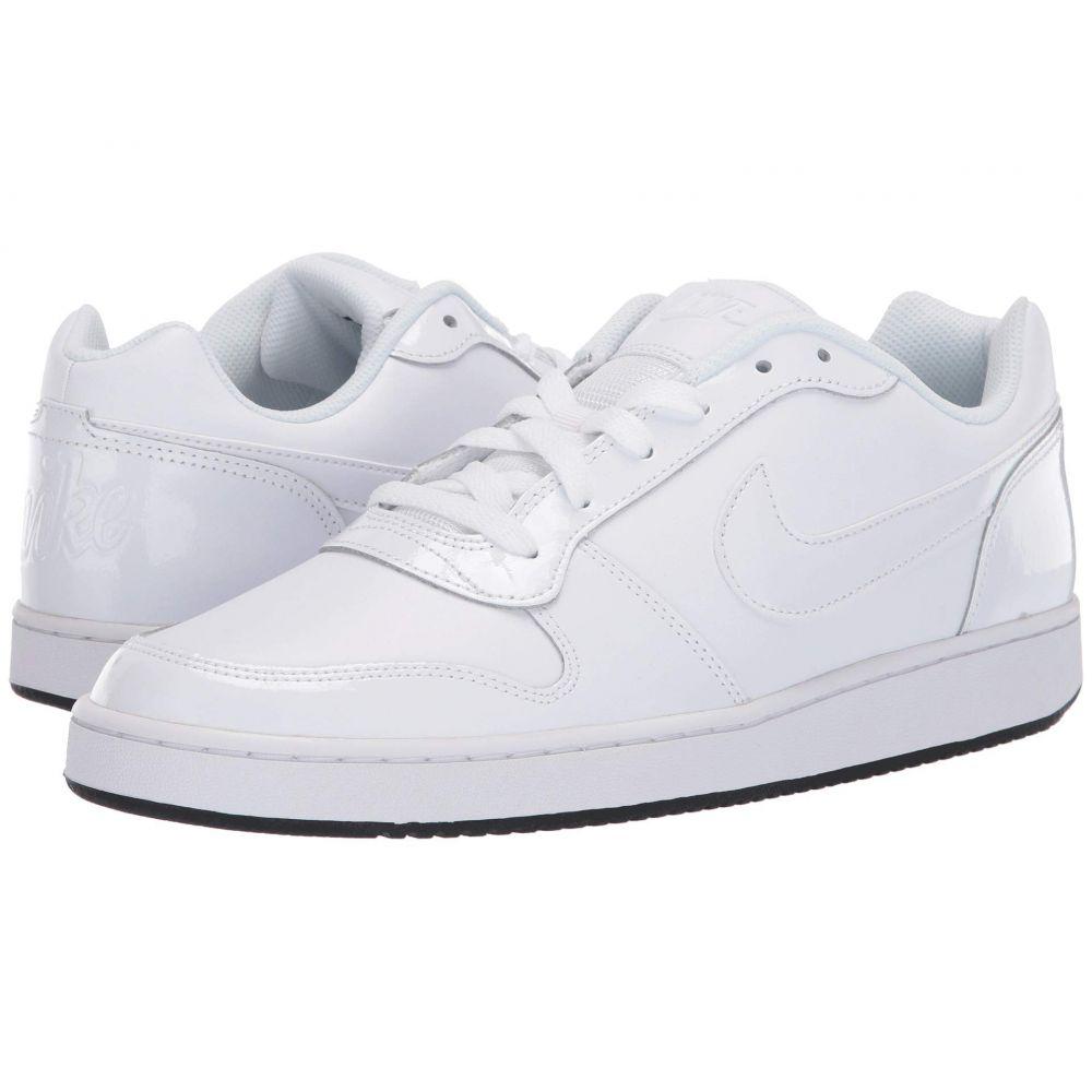 ナイキ Nike メンズ バスケットボール シューズ・靴【Ebernon Low】White/White/Black