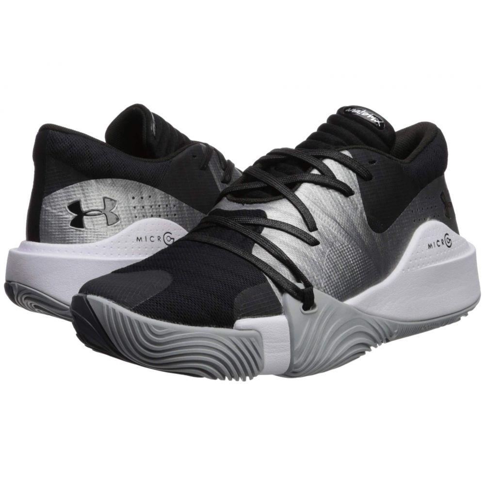 アンダーアーマー Under Armour メンズ バスケットボール シューズ・靴【UA Spawn Low】Black/Mod Gray/Black
