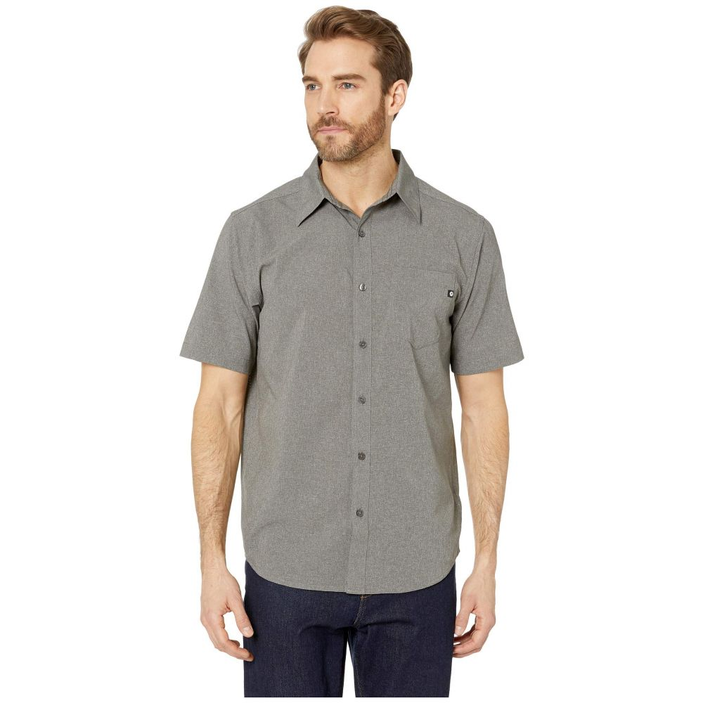 マーモット Marmot メンズ トップス 半袖シャツ【Aerobora Short Sleeve Shirt】Cinder