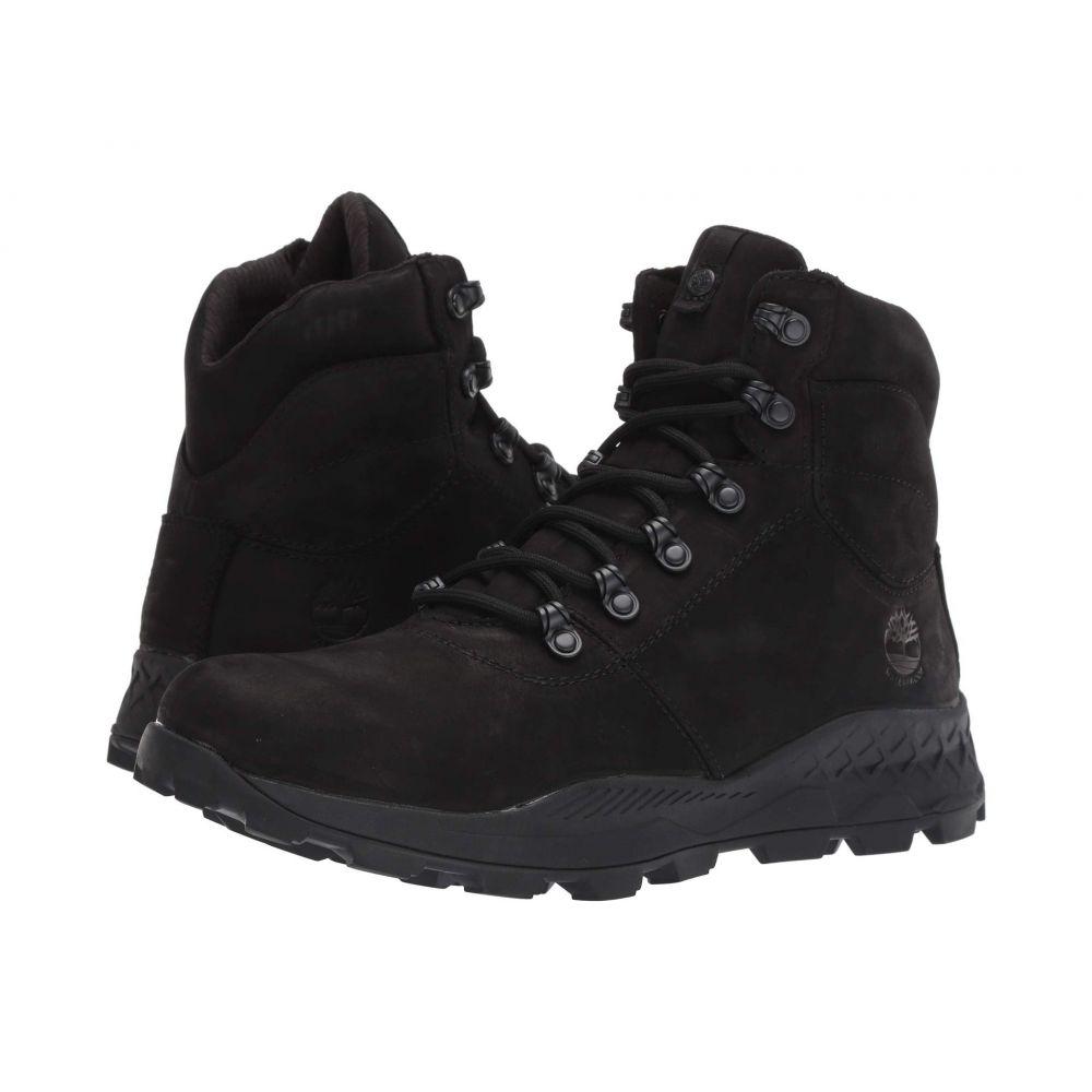 ティンバーランド Timberland メンズ ハイキング・登山 シューズ・靴【Brooklyn Waterproof Mid Hiker】Black Nubuck