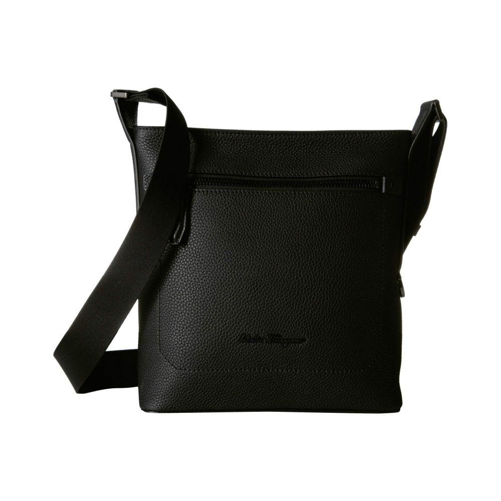 サルヴァトーレ フェラガモ Salvatore Ferragamo メンズ バッグ メッセンジャーバッグ【Firenze Small Messenger Bag - 240861】Black