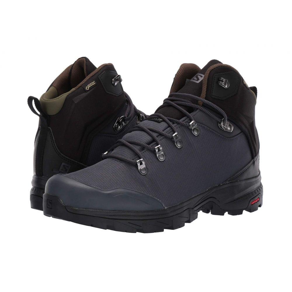 サロモン Salomon メンズ ハイキング・登山 シューズ・靴【Outback 500 GTX】Ebony/Black/Grape Leaf