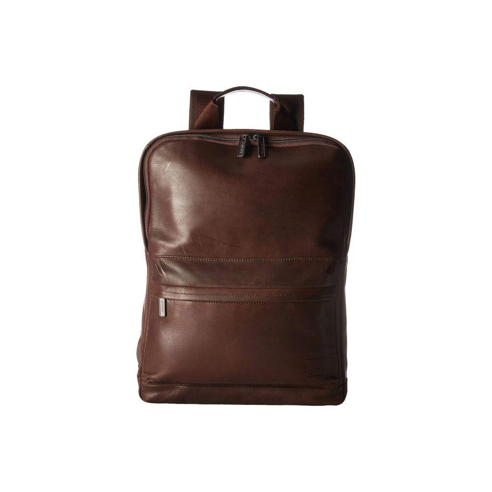 モノ KNOMO London メンズ バッグ パソコンバッグ【Barbican Brackley Laptop Backpack】Dark Brown