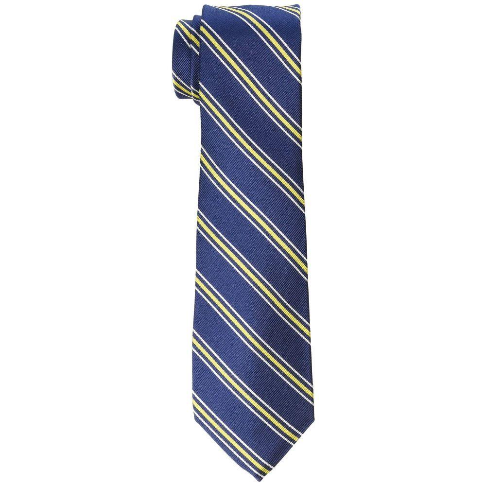 ラルフ ローレン LAUREN Ralph Lauren メンズ ネクタイ【Prep Stripe Tie】Navy/Yellow