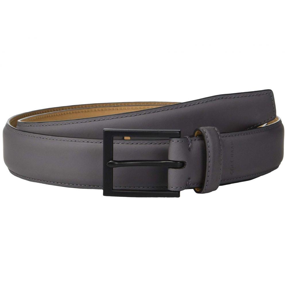 コールハーン Cole Haan メンズ ベルト【32 mm Rubberized Leather Belt】Grey