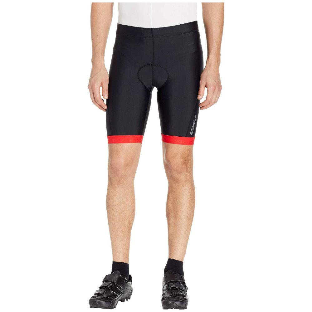 ツータイムズユー 2XU メンズ ボトムス・パンツ ショートパンツ【Active 8' Tri Shorts】Black/Flame Scarlet Print