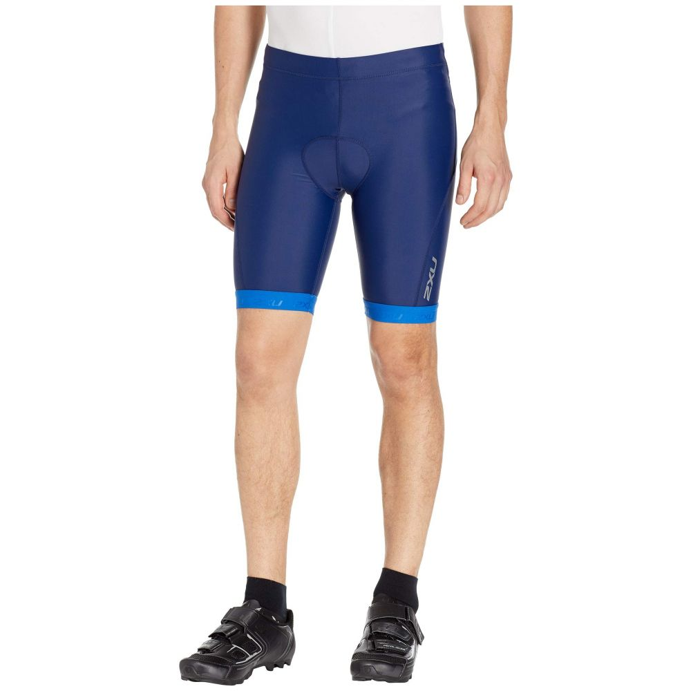 ツータイムズユー 2XU メンズ ボトムス・パンツ ショートパンツ【Active 8' Tri Shorts】Navy/Lapis Blue Print