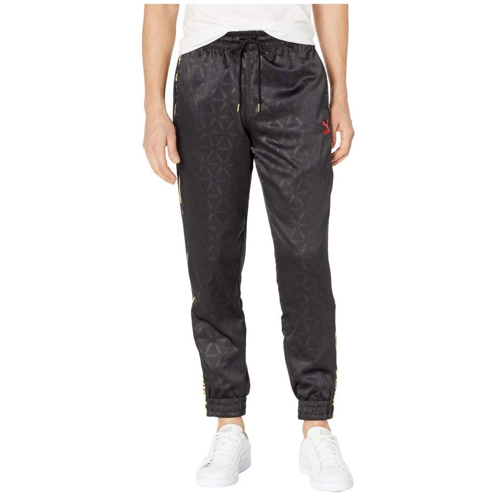 プーマ PUMA メンズ ボトムス・パンツ スウェット・ジャージ【Luxe Pack Track Pants AOP】PUMA Black