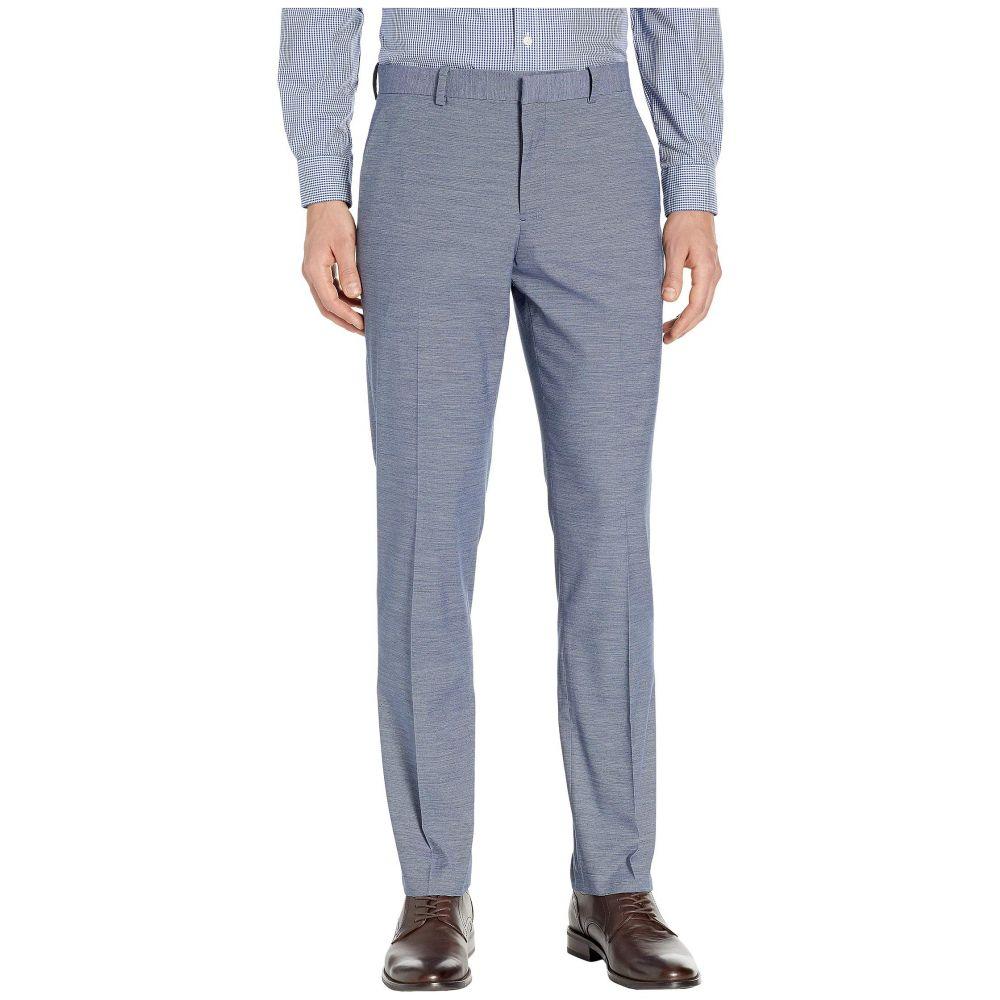 ペリー エリス Perry Ellis Portfolio メンズ ボトムス・パンツ スラックス【Slim Fit Stretch Horizontal Striple Tonal Dress Pants】Bay Blue