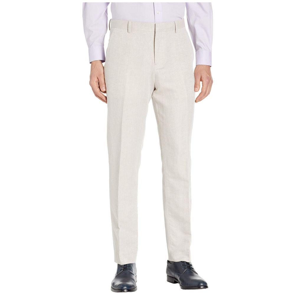 ペリー エリス Perry Ellis Portfolio メンズ ボトムス・パンツ スラックス【Modern Fit Linen Dress Pants】Natural Linen