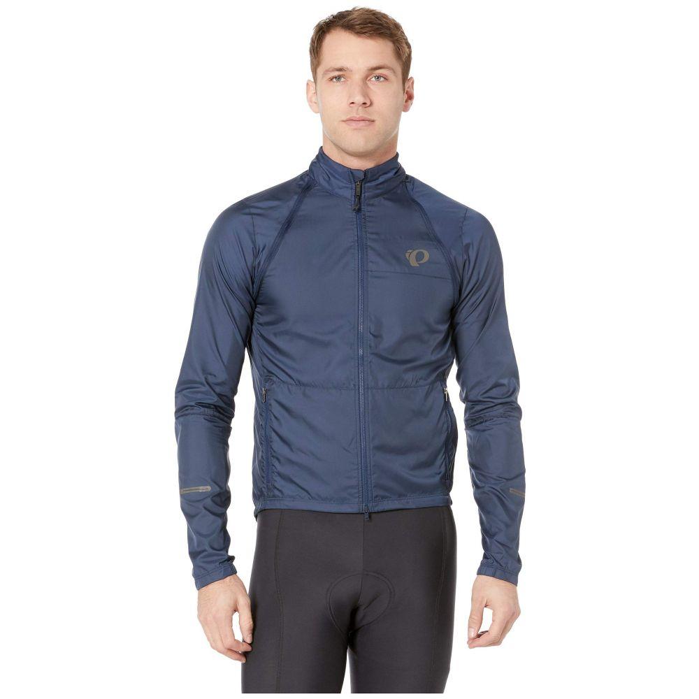 パールイズミ Pearl Izumi メンズ 自転車 アウター【Elite Barrier Convertible Cycling Jacket】Navy