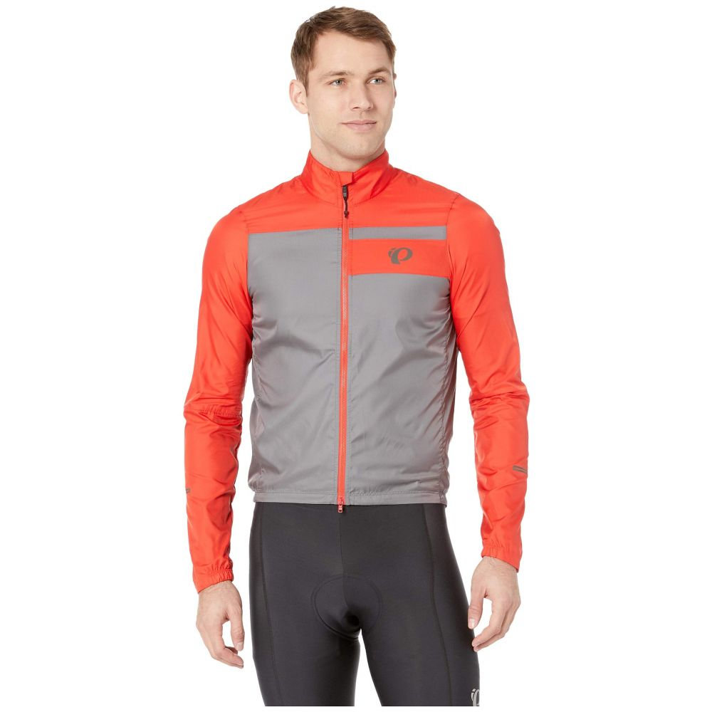 パールイズミ Pearl Izumi メンズ 自転車 アウター【ELITE Barrier Cycling Jacket】Torch Red/Smoked Pearl