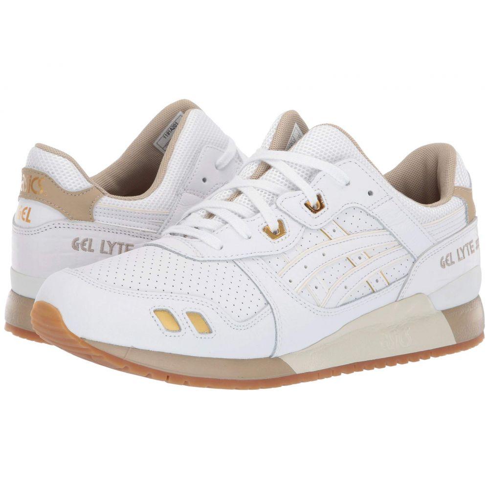 アシックス ASICS Tiger メンズ ランニング・ウォーキング シューズ・靴【Gel-Lyte III】White/White