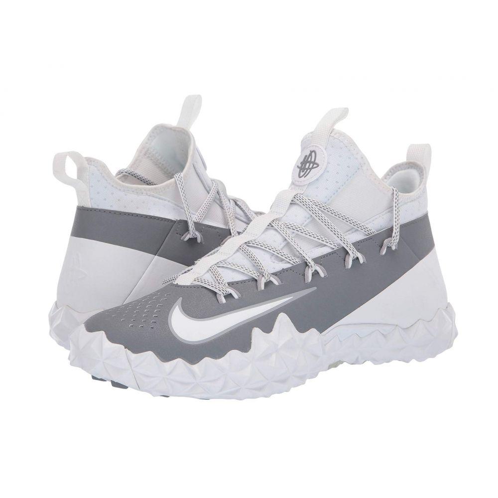 ナイキ Nike メンズ ラクロス シューズ・靴【Alpha Huarache 6 ELT Turf Lax】White/White/Cool Grey/Wolf Grey